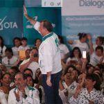 """""""¡Con 39 días a este equipo le basta y sobra para ganar la elección!"""": Meade en Irapuato"""