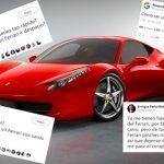 Este es el origen de la tendencia ¿cuándo has visto un Ferrari con calcomanías?