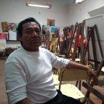 """""""Es una forma de que la gente se dé cuenta de lo que tú sientes"""": pintor y escultor irapuatense"""