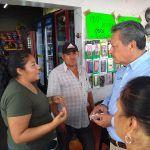 Escucha Ricardo Ortiz a tianguistas de La Lagunilla