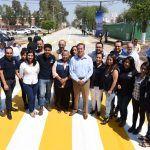 Visitan autoridades Acciones de Mejoras y Dignificación de Espacios en Ciudad Industrial