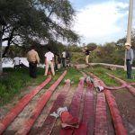 Atienden Protección Civil Pénjamo  contingencias generadas por las recientes lluvias