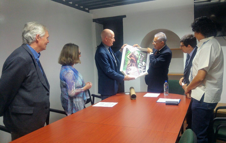 Photo of UG firma Memorándum de Entendimiento con la Universidad de Arizona