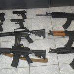 El amplio escaparate del mundo de las armas