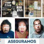 """Aseguran droga y vehículos en """"cachimba"""" de Abasolo; hay tres detenidos"""