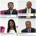 Descolorido debate; sólo asisten 4 de 8 candidatos a alcaldia de Irapuato
