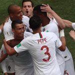 Cristiano Ronaldo saca a flote a Portugal