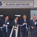 Japoneses abren planta Arneses K&S en Guanajuato