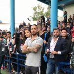Maluma asiste a entrenamiento de la selección