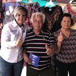Fortalecimiento del comercio local comprometió Jessica Cabal
