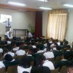 Imparten pláticas de prevención de accidentes en Conalep I
