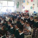 Imparten pláticas de cultura vial a alumnos de escuela de Las Américas