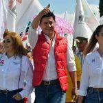 """""""No les voy a fallar"""": Adolfo Alfaro en cierre de campaña"""
