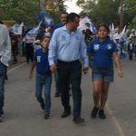 """""""Voy a servir a Huanímaro, como nadie le ha servido"""": Armando Solís; cierra campaña con apoyo total candidato del PAN"""