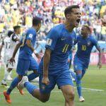 Sufrido encuentro, Brasil derrota 2-0 a Costa Rica