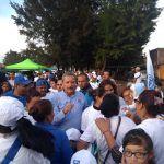 Arropan más de 30 colonias a Ricardo Ortiz en su cierre de campaña