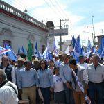 Con mañanitas por su santo, cierra campaña Juan José García