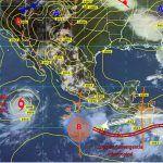 Se mantiene el pronóstico de lluvias fuertes acompañadas de tormentas eléctricas