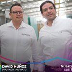 """David Muñoz """"borra"""" al PRI de su publicidad para la diputación local"""