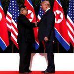 Imágenes históricas: Donald Trump y Kim Jong-un se estrechan la mano en Singapur