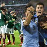 Mexicanos y uruguayos sacan la cara por América
