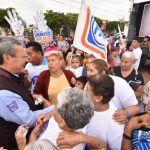 Expone Ricardo Ortiz propuestas a habitantes de Las Heras