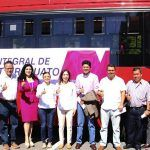 Yulma Rocha presenta proyecto de transporte público