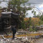 Tráiler se queda sin frenos y mata a siete personas en Tuxtla Gutiérrez