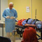 Aterrizan metodología A.T.L.S para responder a las urgencias por traumatismos en hospitales