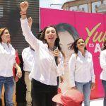 Basta de corrupción, de exclusión y de inseguridad: Yulma Rocha