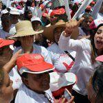 Cierra campaña el PRI en Irapuato