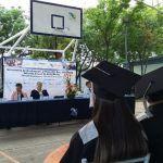 Asiste alcalde a ceremonia de graduación del CECYTE plantel Cuerámaro