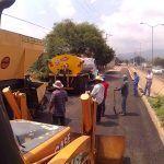 Supervisa Alcalde  obras de rehabilitación en Cuerámaro