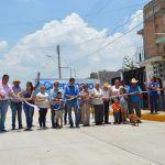 Inauguran calle Cuauhtémoc en  colonia Nuevo Milenio