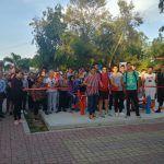 Inaugura Larisa Solórzano gimnasios al aire libre en el municipio