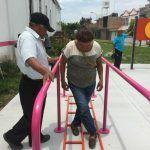 Alcalde inaugura gimnasio al aire libre en Centro Gerontológico