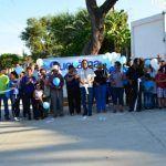 Inauguran 2 obras de pavimentación en la comunidad de Tres Villas