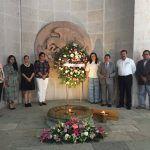 Participa IEEG en renovación del fuego simbólico de la libertad