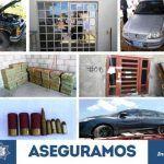 Catean 3 inmuebles en Irapuato, recuperan mercancía, autos y combustible robados