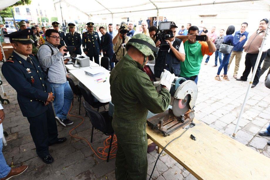 Photo of Municipio y Ejército Mexicano ponen en  marcha la campaña Canje de Armas 2018
