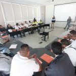 Participan agentes de vialidad en taller de actualización de implementación de operativos de alcoholimetría
