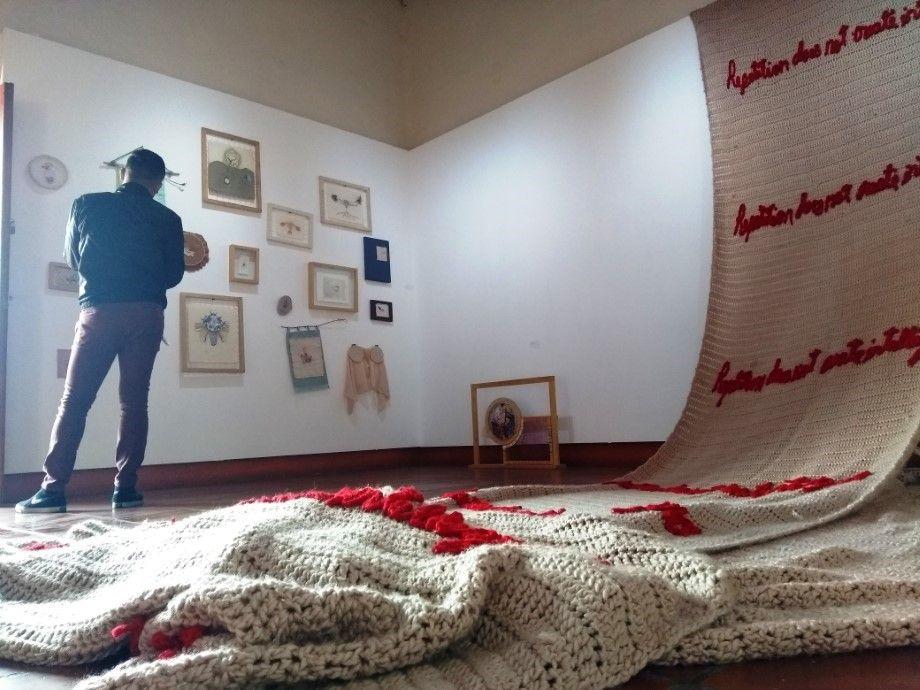 Photo of Tejidos, bordados y enredados en el arte