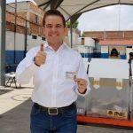 Confío en el voto de los ciudadanos y en las instituciones: Víctor Zanella