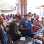 Se lleva a cabo Feria de la Salud en Jardín principal de Huanímaro