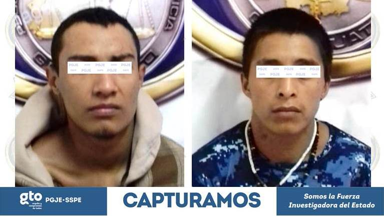 Photo of PGJE y SSPE capturan a dos jóvenes que hace un mes asesinaron a disparos a una mujer en una tienda de abarrotes en Abasolo