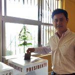 Adolfo Alfaro, espera un resultado limpio y honesto