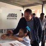 Erandi Bermúdez invita a votar sin odio y sin violencia