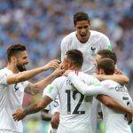 Francia elimina a Uruguay del Mundial; espera a Brasil o Bélgica