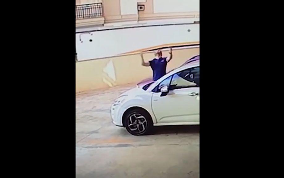 Photo of ¡Acto heroico! Hombre salva a perrita de una caída de 20 metros