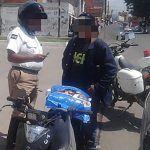 """Obtienen excelentes resultados en """"Operativo Cazador"""" hacia motociclistas"""